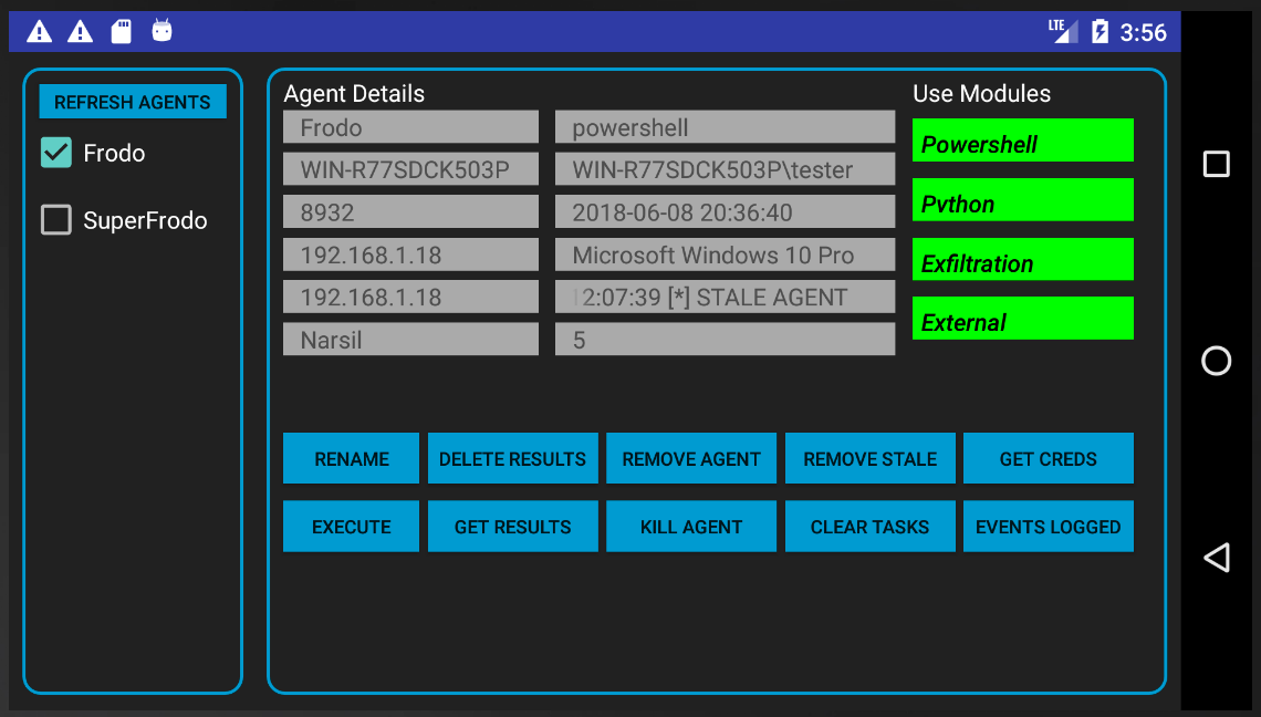 Empire-Android-AgentDetails