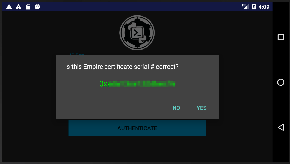 Empire-Android-cert-check