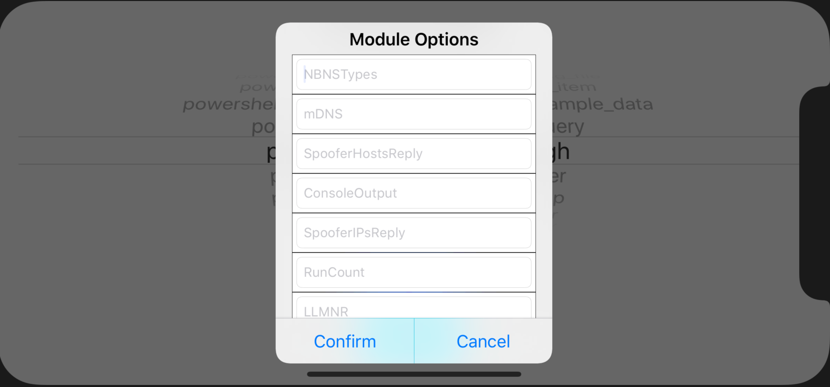 Empire-iOS-Module-Options